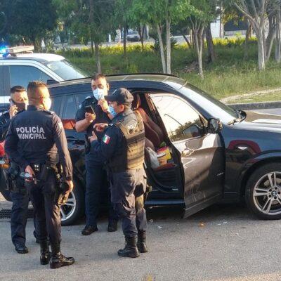 ASEGURAN CAMIONETA CON DROGA: Detienen a un hombre con marihuana y cocaína en la Región 524 de Cancún