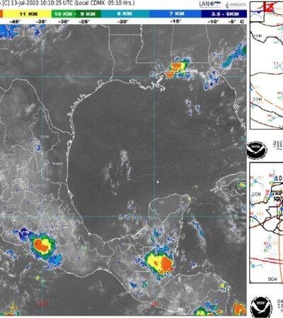 PRONOSTICO DEL CLIMA: Nubosidad con pocas probabilidades de lluvia en Quintana Roo