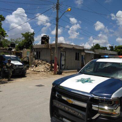 ACTUALIZACIÓN | DOBLE EJECUCIÓN EN RANCHO VIEJO: Confirman muerte a balazos de un hombre y una mujer en zona continental de Isla Mujeres; hay dos detenidos