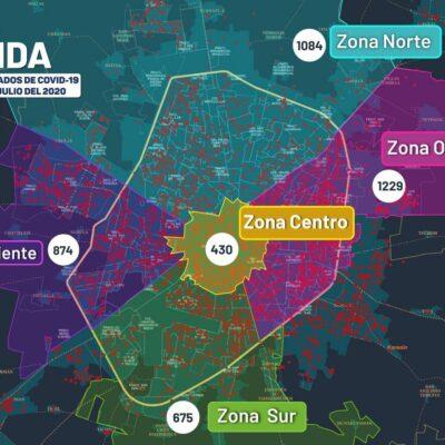 REPUNTA EL COVID-19 EN YUCATÁN: Registran 237 nuevos contagios y 32 muertes en 24 horas