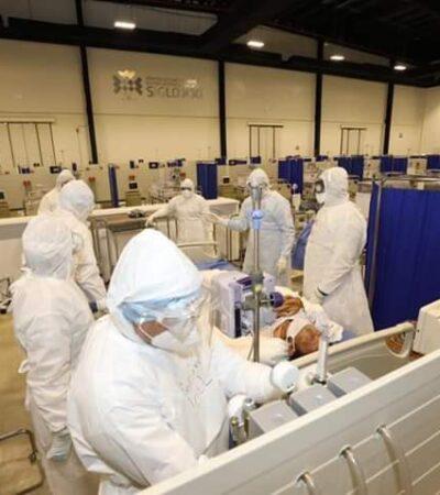 ACUMULA YUCATÁN CASOS RÉCORD DE COVID-19: Reportan 276 contagios y 15 muertos en un día