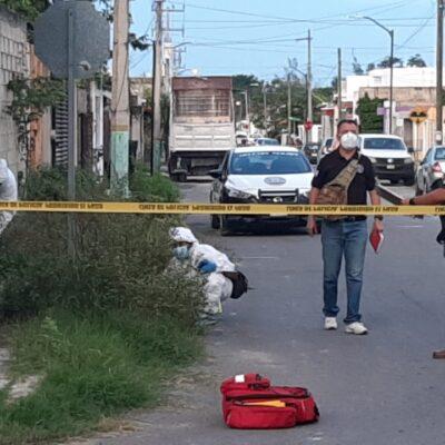 ATAQUE CONTRA ELEMENTO DE LA GUARDIA NACIONAL EN CHETUMAL: Le dan tres balazos y lo llevan al Hospital Naval