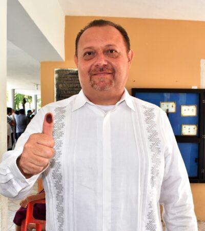 'CHACMEX' SE ECHA FLORES Y DICE QUE QUIERE REELEGIRSE: José Esquivel Vargas admite que quiere seguir como alcalde de Carrillo Puerto