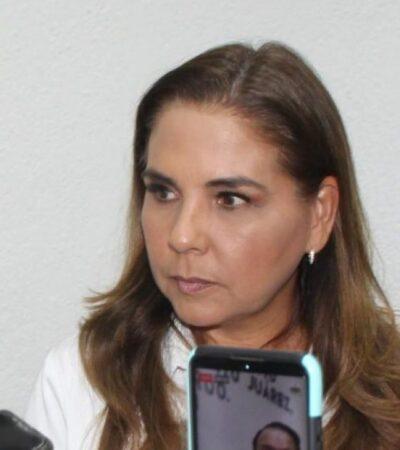 INE declara improcedente adoptar medidas cautelares contra Mara Lezama por supuesta promoción personalizada