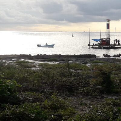 PROYECTO A MEDIANO PLAZO: En 'cuarentena' y sin cruceros a la vista, inician estudios de suelo para cuarto muelle en Cozumel