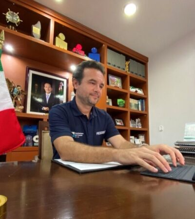 Entidades y municipios replican medidas implementadas en Cozumel desde marzo, destaca Pedro Joaquín