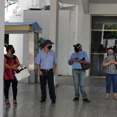 Vendedores ambulantes se manifiestan por persecución, acoso y multas de la Dirección de Fiscalización en Chetumal