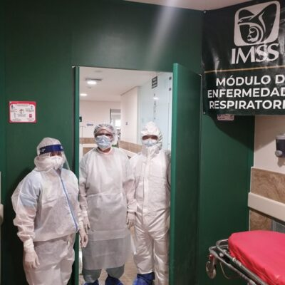 Capacidad de hospitales del IMSS en QR no está rebasada para atender a pacientes con COVID-19, afirma delegada