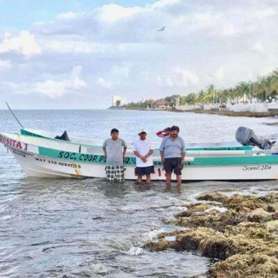 Disminuye captura de langosta por pesca furtiva durante la contingencia sanitaria en Cozumel