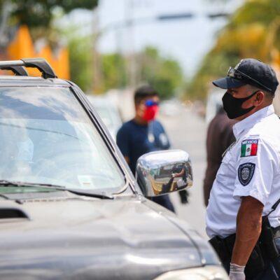 Confirman 11 contagios de Covid-19 entre elementos de la Policía, Protección Civil y Bomberos de Cozumel
