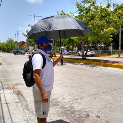 Canícula provocará temperaturas de hasta 37 grados centígrados en Cancún