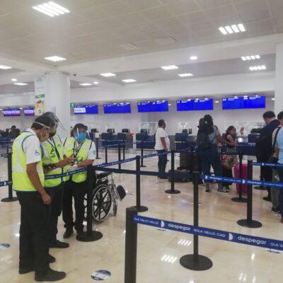 Registra 174 operaciones el Aeropuerto Internacional de Cancún este lunes