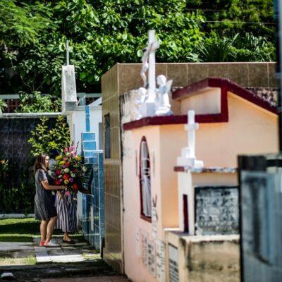 Realizan ampliaciones en panteones de Cozumel por la contingencia sanitaria