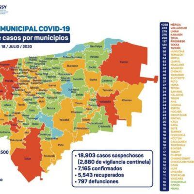 SUPERA YUCATÁN A QR EN MUERTES: Con 797, se convierte en el estado con mayor número de decesos en la Península; van 7 mil 165 casos positivos de Covid-19