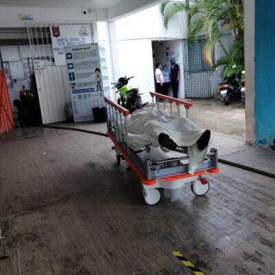 Fallece médico con Covid-19 en pasillos del Hospital General de Felipe Carrillo Puerto tras no alcanzar cama ni atención