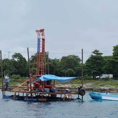 SEGUIMIENTO   Confirman inicio de trabajos de prospección de eventual cuarto muelle de cruceros en Cozumel