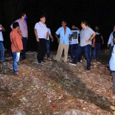Habilitarán acceso alterno en comunidades mayas de FCP afectadas por las lluvias