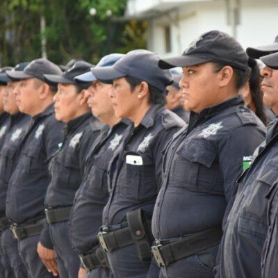 Presentan síntomas de Covid-19 una decena de policías en Felipe Carrillo Puerto