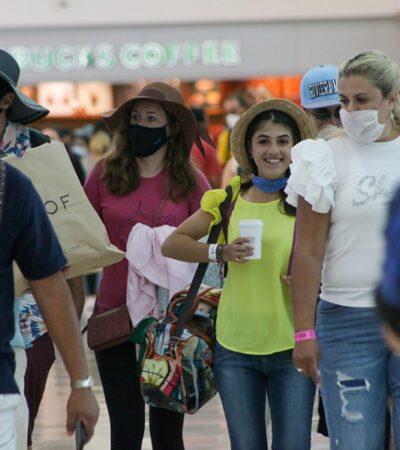Mantiene 145 operaciones aéreas el Aeropuerto Internacional de Cancún por segundo día consecutivo