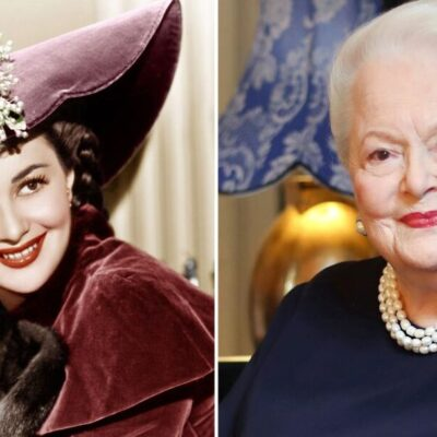 MUERE LA ÚLTIMA LEYENDA DEL HOLLYWOOD ANTIGUO: Fallece a los 104 años Olivia de Havilland, actriz en 'Lo que el viento se llevó'