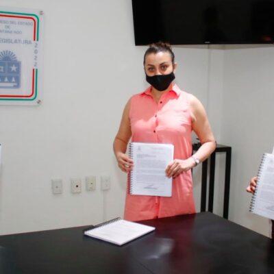 Reciben diputadas propuestas en materia electoral y de violencia política en razón de género para Quintana Roo