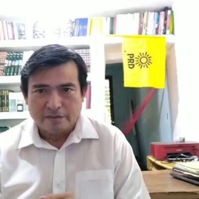 Rafael Esquivel, dirigente del PRD en QR da positivo a COVID-19