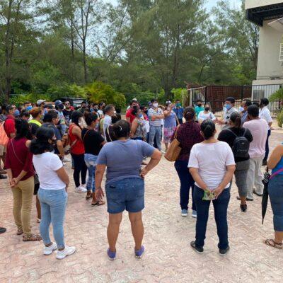 SIGUEN DESPIDOS EN HOTELES DE LA RIVIERA MAYA: Protestan en Playa trabajadores del Reef Club Coco Beach cesados sin liquidación justa