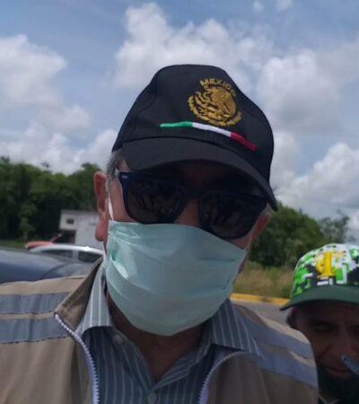 """""""NO ES UN FOCO DE CONTAGIO"""": Minimiza Imoveqroo quejas de transportistas por multas y asegura que el transporte no es una fuente de casos de coronavirus en Cancún"""