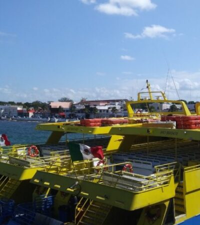 Piden empresarios a Cofece acabar con las prácticas monopólicas de Ultramar y Winjet en la ruta Playa del Carmen-Cozumel