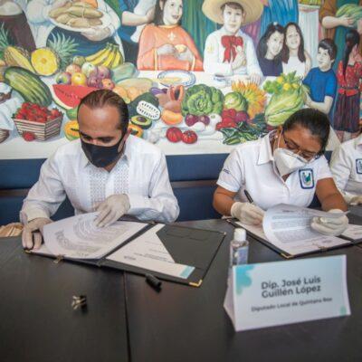 POR ESCRITO PARA QUE SEA EN SERIO: Diputado José Guillén firma convenio con tres universidades para entregar becas a estudiantes y donar un mes de su salario a cada institución