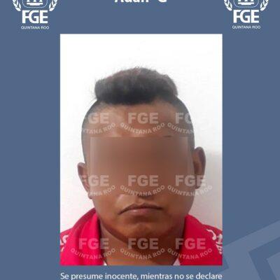 Captura FGE en Chetumal a Adán 'G' imputado por violación a una menor a la que conoció por internet