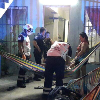 LO ALCANZA UN DISPARO ACOSTADO EN SU HAMACA: 'Bala perdida' en el fraccionamiento Villas del Mar de Cancún deja un hombre ligeramente herido
