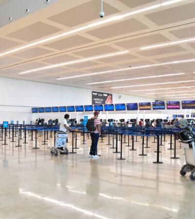 188 VUELOS EN UN DÍA, UN RÉCORD DESDE EL 1 DE ABRIL: Aeropuerto de Cancún cerca de las 200 operaciones diarias
