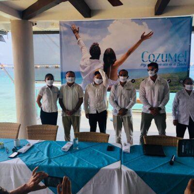 Asociación hotelera de Cozumel presenta campaña para relanzar la isla