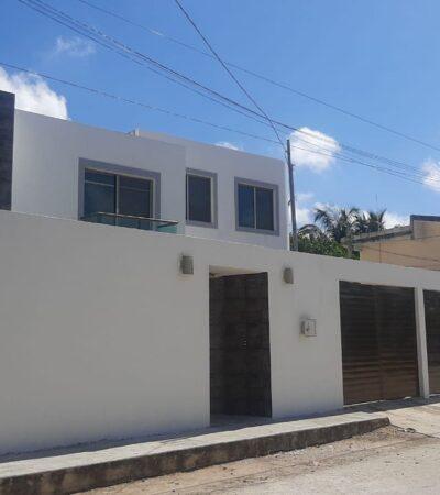 Catean casa en colonia de Cancún por investigación de feminicidio