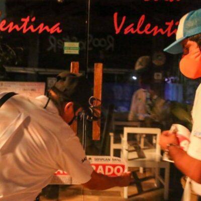 Clausuran restaurante en Isla Mujeres por no respetar horarios de servicio