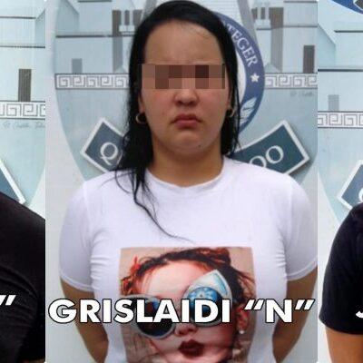 PRESUNTOS VENEZOLANOS, BAJO INVESTIGACIÓN: Indagan si dos hombres y una mujer detenidos tienen que ver con delitos de alto impacto en Cancún