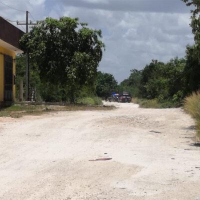 SEGUNDO FEMINICIDIO EN SIETE DÍAS EN CANCÚN: Hallan cadáver de mujer en en camino de terracería en la Región 214