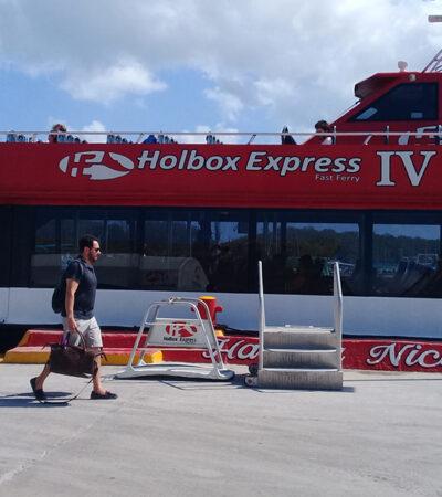 Holbox tiene ya un 30% de ocupación hotelera a una semana de reabrir sus accesos