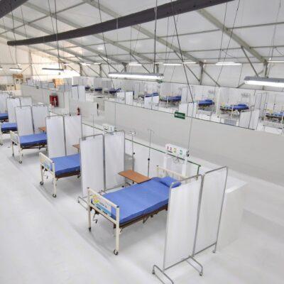 SI SE SATURAN HOSPITALES SE TENDRÁ QUE VOLVER AL ROJO: Quintana Roo cuenta con cerca de mil camas de hospital para atender crisis del COVID-19: Carlos Joaquín