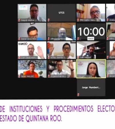 Aprueba Ieqroo propuestas de reformas a ley electoral