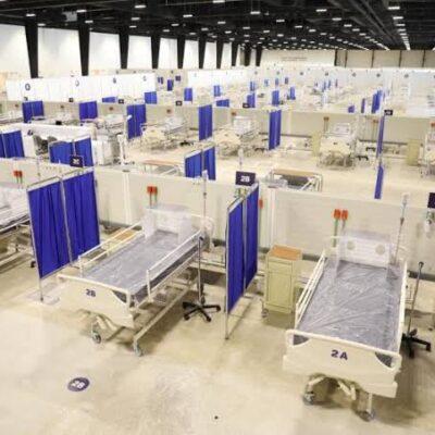 ES UN HECHO: Entra en funciones el hospital temporal del Centro de Convenciones y Exposiciones Yucatán Siglo XXI en Yucatán