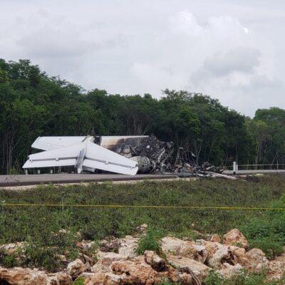 HUBO 'TRABAJO DE LOGISTICA' PREVIO: Aterrizaje de aeronave en Zona Maya de Quintana Roo habría tenido apoyo terrestre