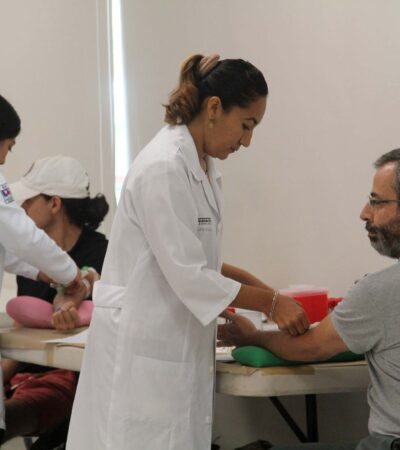 Inicia IMSS este lunes estrategia de donación de sangre itinerante