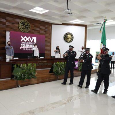 Solidaridad festeja 27 años de su creación como el octavo municipio de Quintana Roo