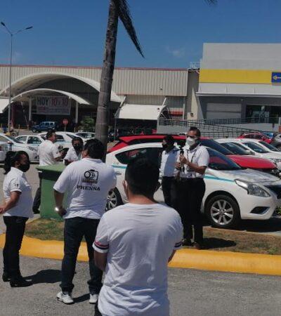 PLEITO POR EL PASAJE: Se tensa la relación entre transportistas de FCP y de Playa del Carmen
