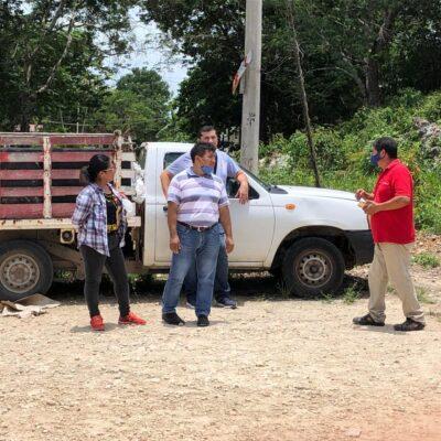 Realiza FGE diligencias en terreno de la Uqroo que fue invadido en Felipe Carrillo Puerto
