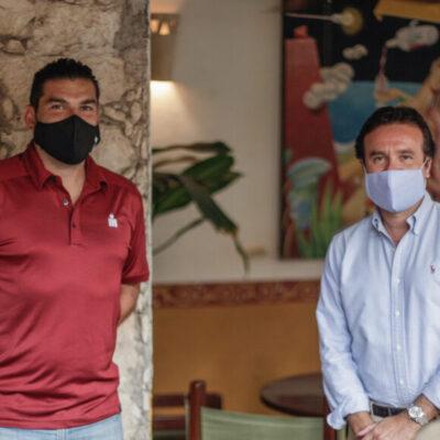 Coordinan acciones para el desarrollo seguro de la 9 edición del Mazda Ironman 70.3 en Cozumel