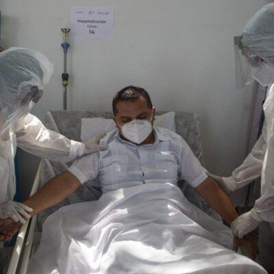 COVID-19 DISMINUYE INTENSIDAD EN TABASCO: Baja en contagios, fallecimientos y hospitalizados