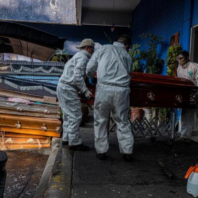 PANDEMIA EN MÉXICO: Casi 56 mil muertes por COVID-19; producción de vacuna hasta 2021